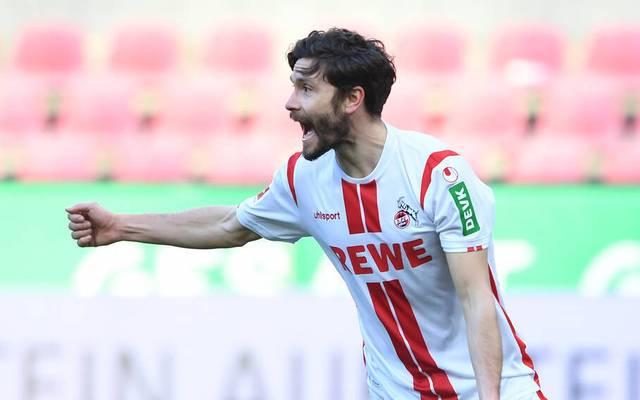 Jonas Hector erzielte den Ausgleich für den 1. FC Köln