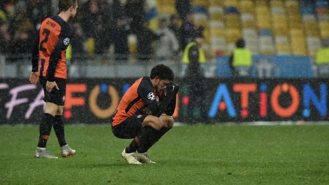 Schachtars Taison wurde während der Partie gegen Dynamo Kiew von Fans rassistisch beleidigt