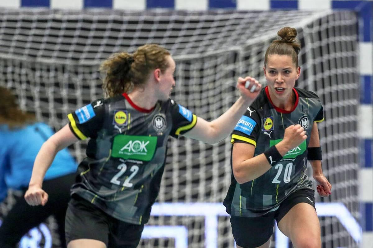 Die DHB-Frauen starten in die Qualifikation zur EM 2022 gegen einen völlig unbekannten Gegner. SPORT1 überträgt die Partie LIVE.