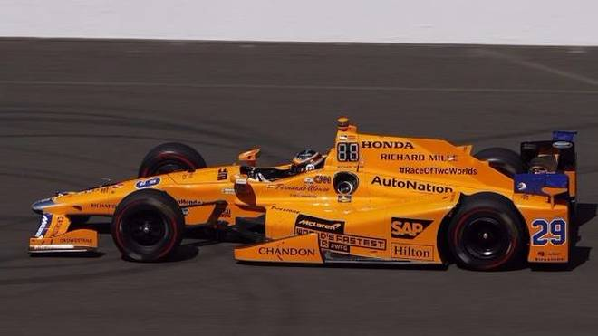 Fernando Alonso beim Indy 500: Siegfähiges Material, aber weniger Geld