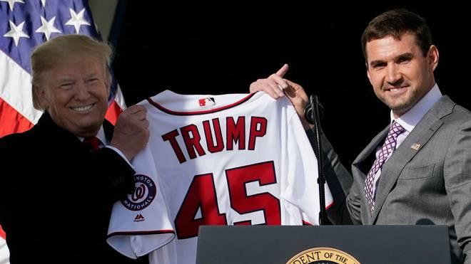 US-Präsident Donald Trump (l.) sehnt sich nach Livesport