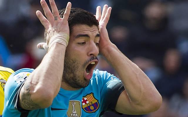 Luis Suarez kann angeblich nicht richtig rechnen