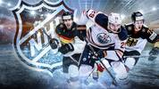 In der Saison 2018/19 wollen diverse Deutsche, unter anderem Leon Draisaitl (m.), in der NHL angreifen