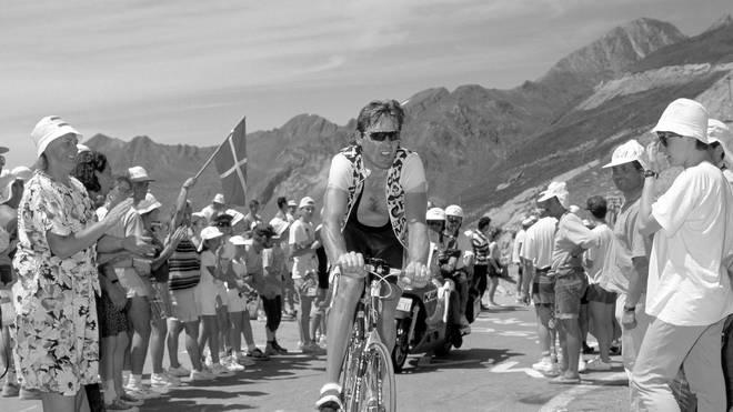Der ehemalige deutsche Radprofi Remig Stumpf nahm 1991 und 1992 an der Tour de France teil