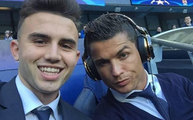 Youngster Borja Mayoral (l.) bekam sein Selfie mit Ronaldo