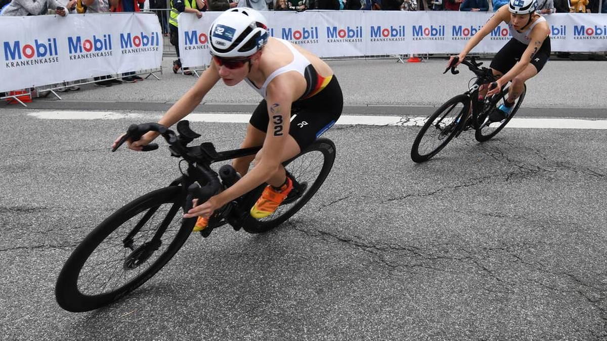 Annika Koch gewann bei der Triathlon-EM die Silbermedaille