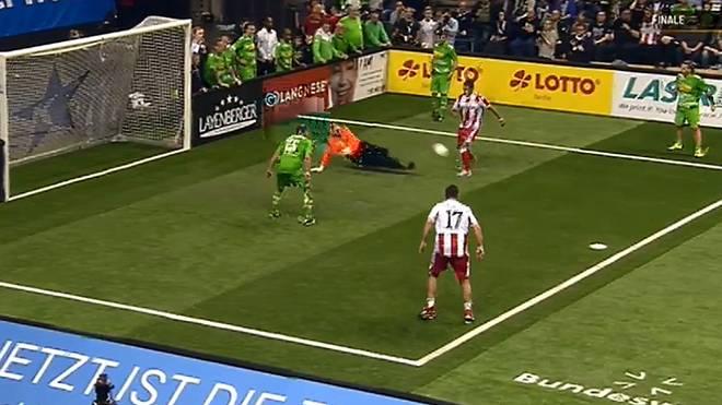 Karim Benyamina erzielte im Finale drei Tore für Turniersieger Union Berlin