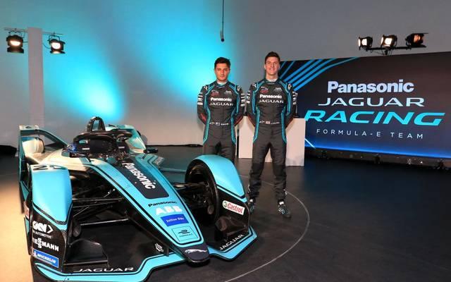 Panasonic Jaguar Racing: James Calado (l.) und Mitch Evans