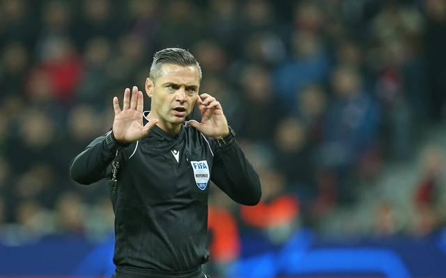 Damir Skomina leitete bereits zwei Europapokalendspiele