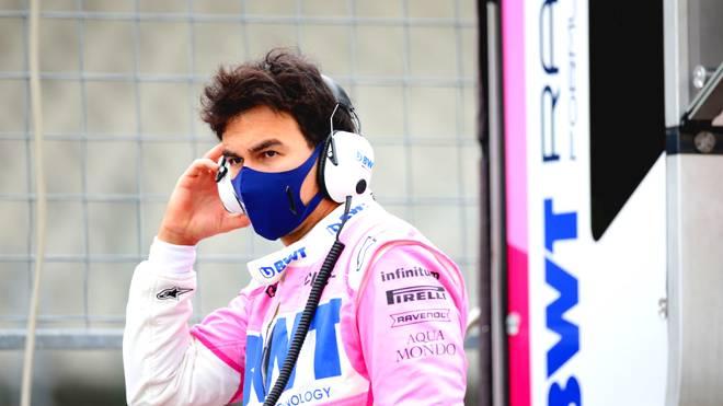 Sergio Perez muss sich in Quarantäne begeben