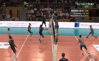 Volleyball-Bundesliga LIVE im TV