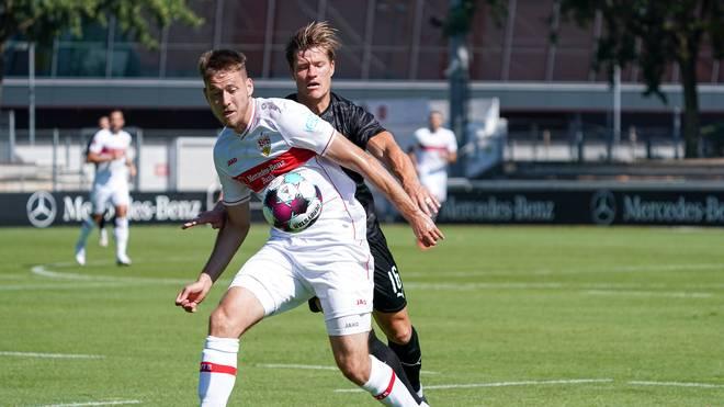 Waldemar Anton legt mit dem VfB Stuttgart einen beeindruckenden Test gegen Sandhausen hin