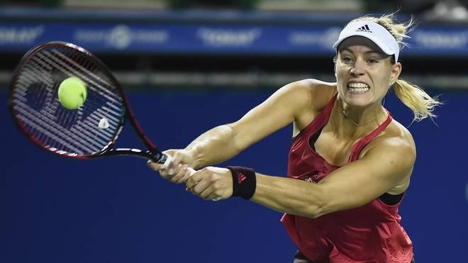 Angelique Kerber steht beim WTA-Turnier in Tokio im Viertelfinale