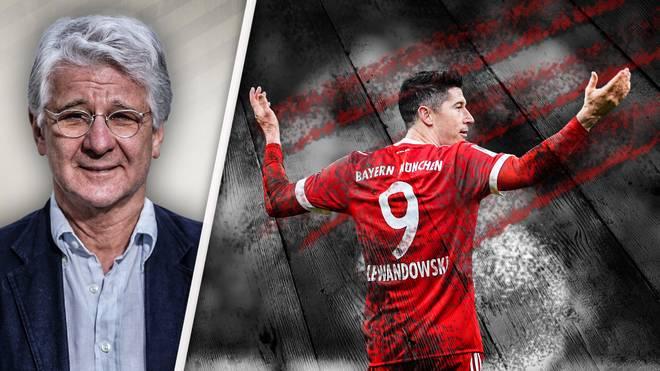 In den Augen von Marcel Reif (l.) hat sich Robert Lewandowski gegen Schalke nicht nur mit Ruhm bekleckert