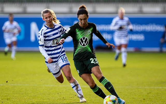 Sara Doorsoun spielt seit 2018 für den VfL Wolfsburg