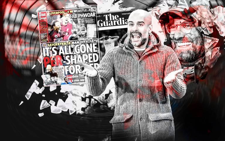 Die englische Presse zerreißt Manchester City nach der Niederlage gegen Leicester und feiert Jürgen Klopp und den FC Liverpool. Die Pressestimmen zum Boxing Day