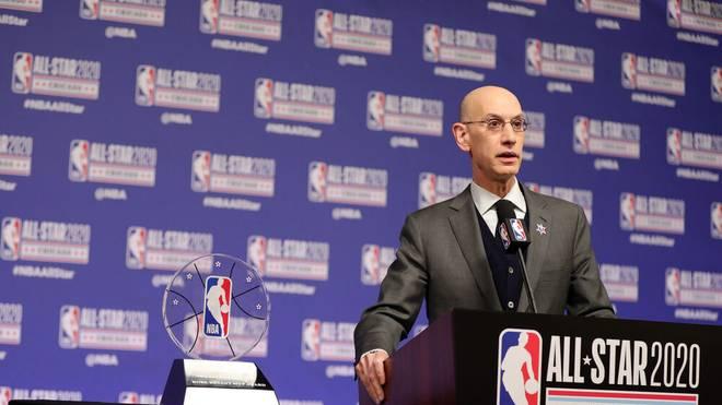 Adam Silver spricht über das Olympische Turnier und die NBA-Stars