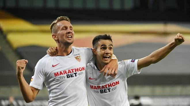 Luuk de Jong erzielte sein erstes Tor in dieser Europa-League-Saison