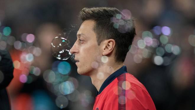 Mesut Özil steht vor einem Wechsel vom FC Arsenal zu Fenerbahce Istanbul (Archivfoto)