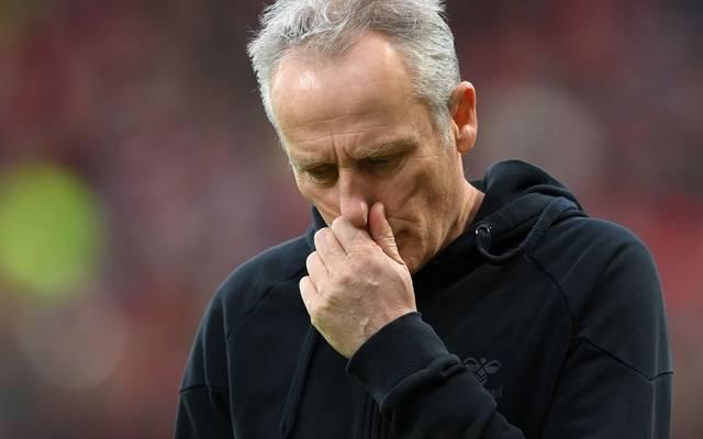 Gegen Borussia Dortmund hat Christian Streich (SC Freiburg) nichts zu lachen