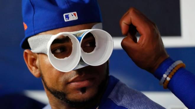 Yoenis Cespedes von den New York Mets wurde im Mai bei einer Wildschwein-Attacke verletzt