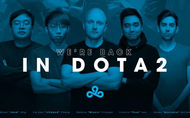Cloud9 kehrt nach zwei Jahren zu Dota 2 zurück