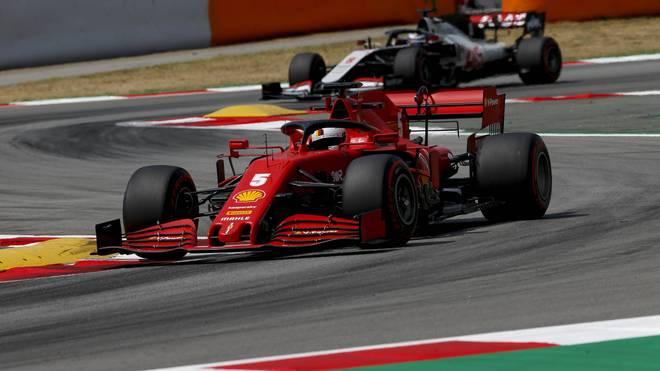 Sebastian Vettel wurde im Freien Training nur Zwölfter