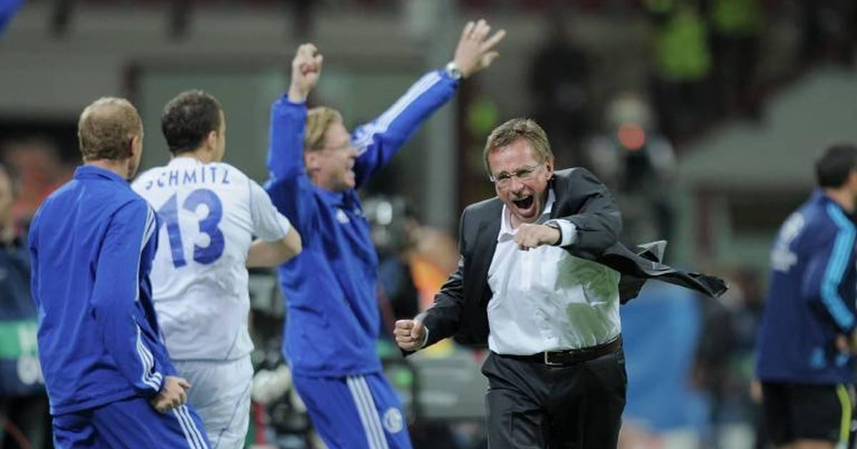 Ralf Rangnick bei Schalke 04: Inter-Spektakel, Pokalsieg - und Burnout - SPORT1