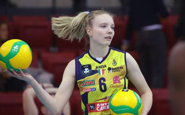Jennifer Geerties ist feste Stütze der deutschen Volleyball-Nationalmannschaft