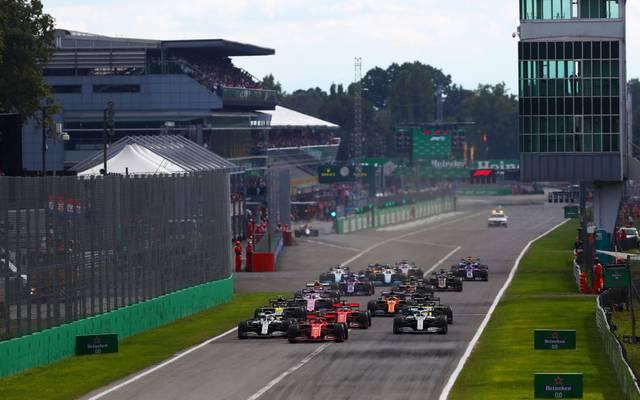 Der Formel-1-Zirkus gastiert mindestens bis 2025 in Monza
