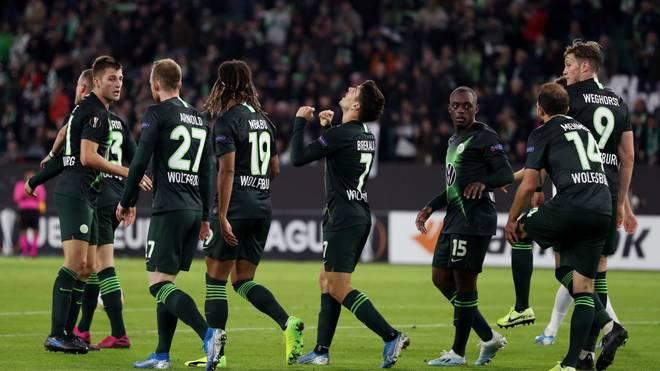 Der VfL Wolfsburg feierte gegen PFK Oleksandrija in der Europa League einen Auftakt nach Maß