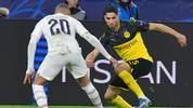 Achraf Hakimi schied mit dem BVB gegen PSG in der Champions League aus