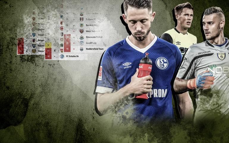 Der FC Schalke 04 hat einen klassischen Fehlstart in die neue Bundesliga-Saison hingelegt. Ein Blick durch Europa zeigt jedoch: Es geht noch schlechter. SPORT1 zeigt die Fehlstarter des Kontinents im Ranking