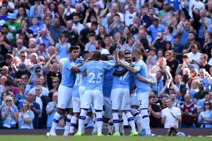 In den europäischen Top-5-Ligen fielen am Wochenende zahlreiche Tore - allein im Samstagspiel der Premier League zwischen Manchester City und dem FC Watford fielen acht Tore – allesamt für die Truppe von Pep Guardiola