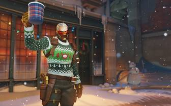 Overwatch: Winter Wonderland 2019: Soldier 76 - Hässlicher Pulli