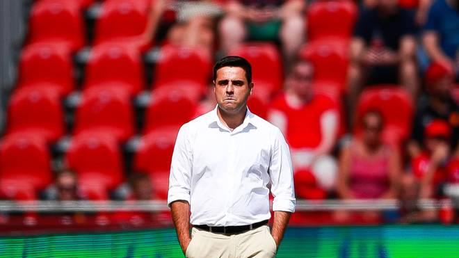 David Gallego wurde nach nur einem Sieg aus acht Spielen bei Espanyol Barcelona entlassen