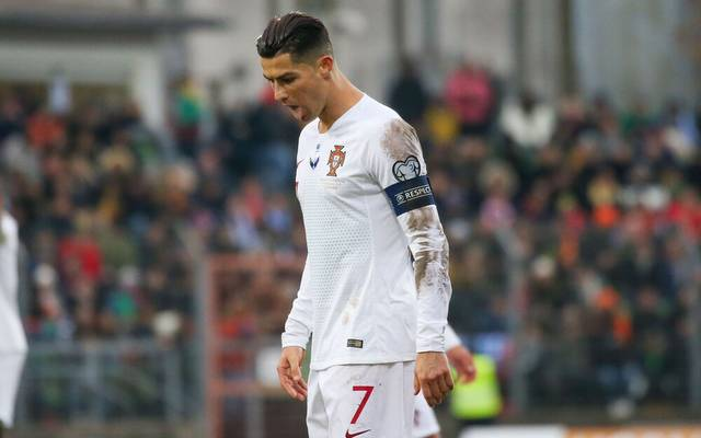 Cristiano Ronaldo könnte bei Portugal ausfallen