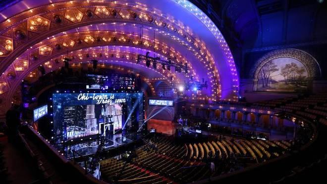 NFL Draft: 2016 kamen über 200.000 Fans nach Chicago zum Draft im Auditorium Theatre.