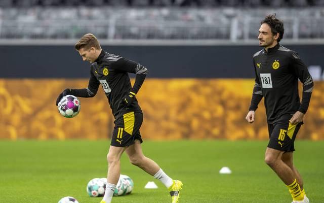 Marco Reus und Mats Hummels stehen in Freiburg wieder in der Startelf des BVB