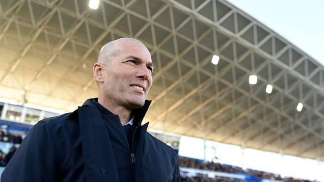 Kann im Supercopa-Finale 2020 seinen zehnten Titel mit Real Madrid gewinnen: Zinedine Zidane