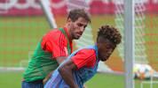FC Bayern: Javi Martinez wieder im Training - Einsatz gegen Schalke möglich