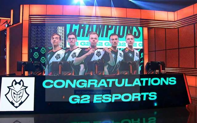 G2 Esports besiegt Fnatic und gewinnt die LEC-Summer-Playoffs 2020 in League of Legends