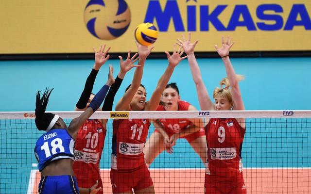 Italien und Serbien standen sich zuletzt 2018 im Finale der Volleyball-WM bei einem großen Turnier gegenüber
