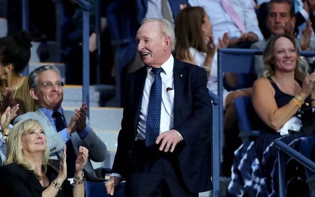 Rod Laver wurde bei den US Open 2019 geehrt und gefeiert