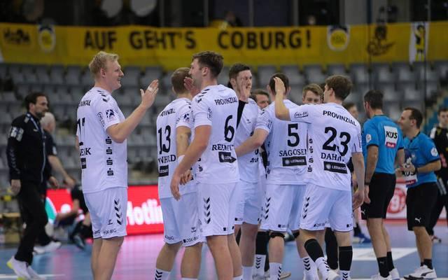 Der THW Kiel ließ in der Handball-Bundesliga bei Schlusslicht HSC Coburg nichts anbrennen