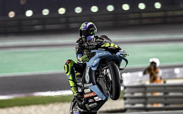 Valentino Rossi fährt seine erste Saison im Petronas-Team