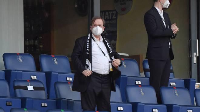 DFB-Vizepräsident Dr. Rainer Koch ist auch für die UEFA tätig