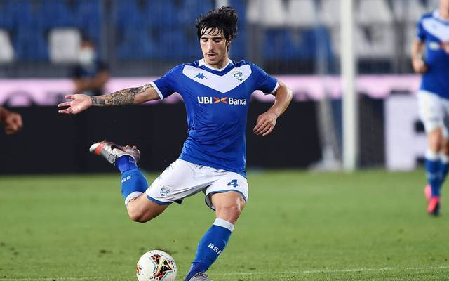 Sandro Tonali war zuletzt für Brescia Calcio aktiv