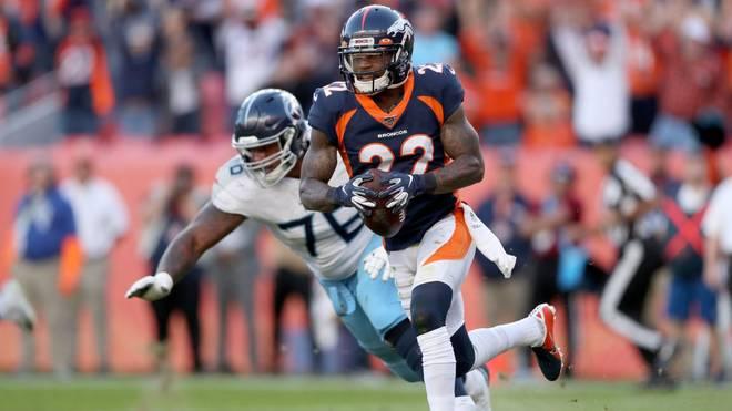 Kareem Jackson (r.) spielt als Cornerback bei den Denver Broncos