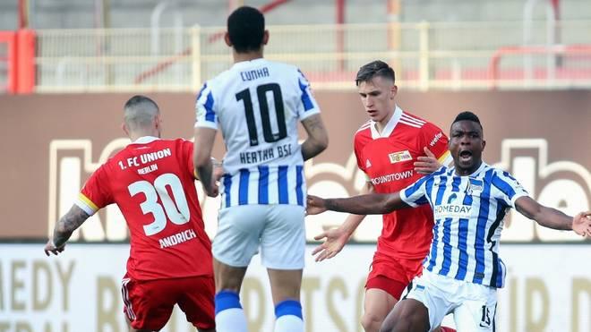 Hitziges Derby: Union und Hertha trennen sich 1:1